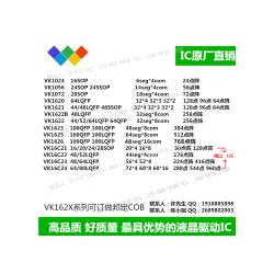 HT1625兼容替代VK1625 QFP/LQFP100