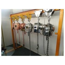 防爆电动葫芦304不锈钢电动环链沪工1吨2吨3米化工专用